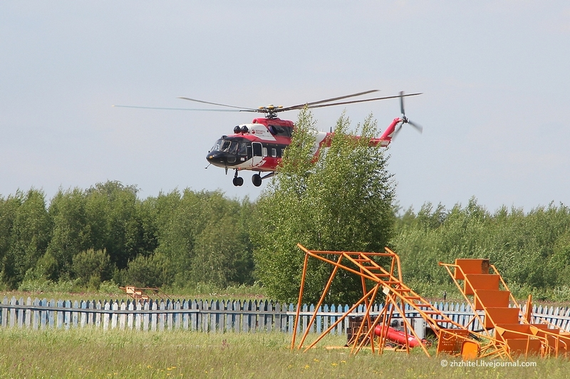Russian Mi-8 helicopter production pictures