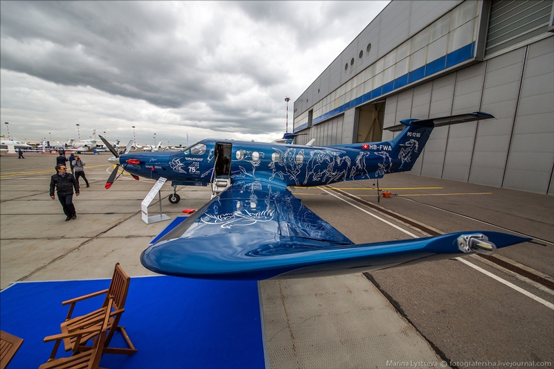 Russian Big Moscow Jet Planes Expo 2015