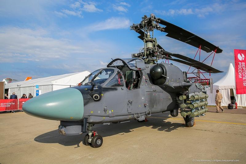 Russian Newest KA-52K Helicopters