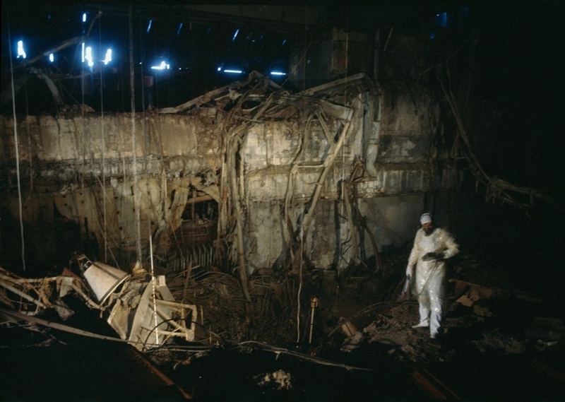 Russian Photographer Goes inside Chernobyl Reactor in 1990