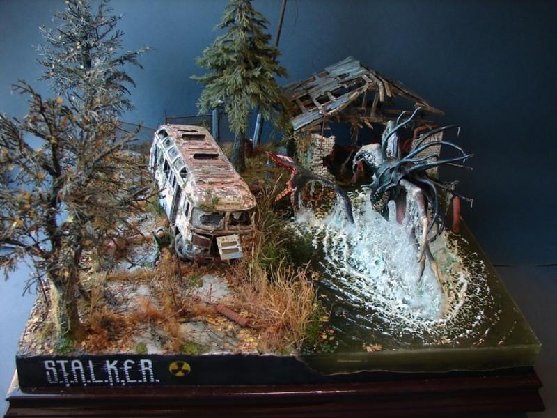 Awesome Super Realistic Small STALKER Landscape Model