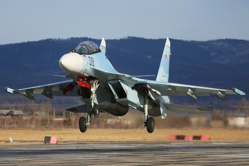 Russian SU-30SMs Receive New Missiles