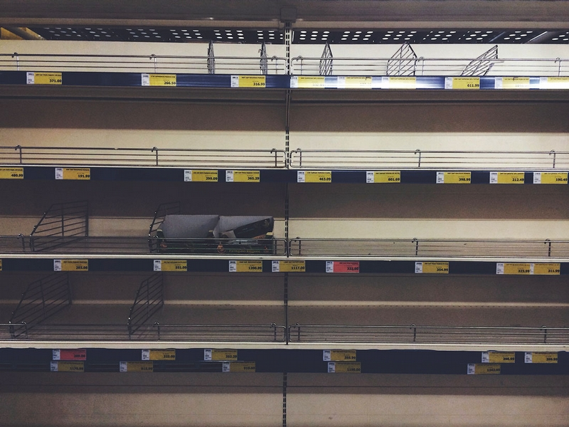 Some Empty Shelves