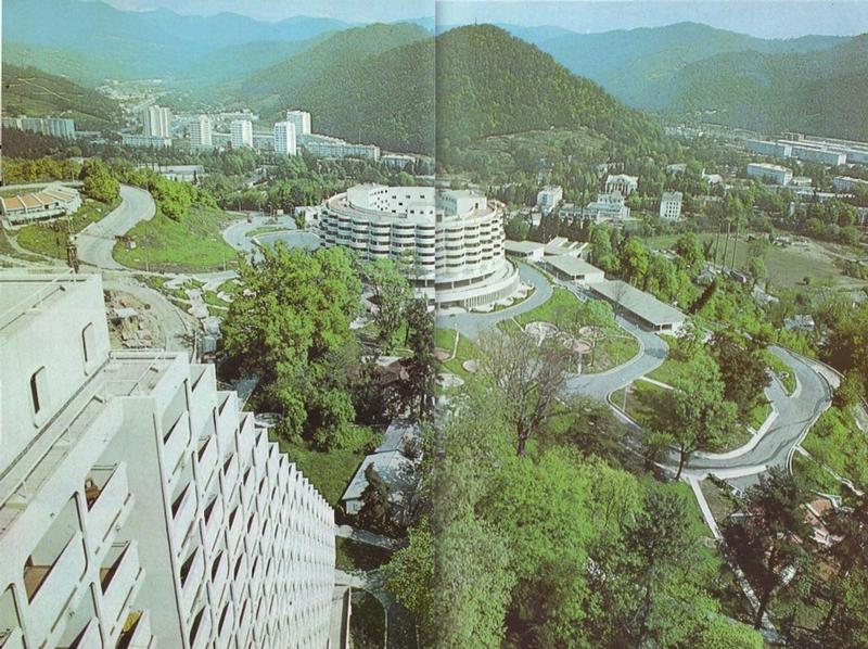 Soviet Sochi in 1980s