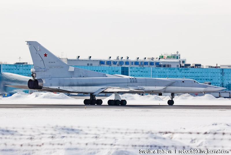 Russian Strategic Bombers Tu-22m3 on a March