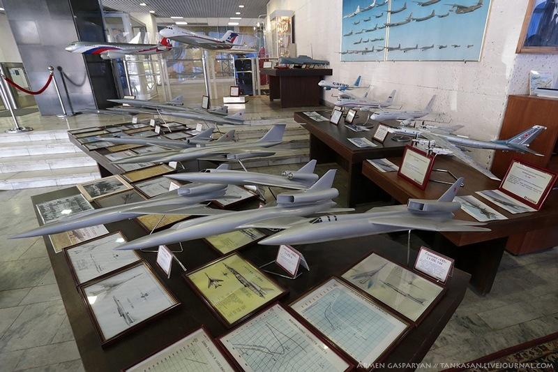 A Guided Tour into the Museum of the TU Planes