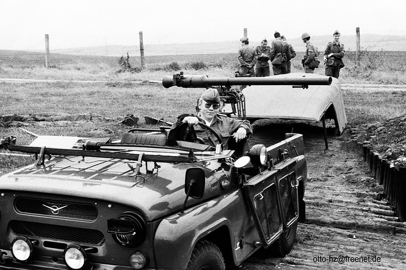 Rare Russian UAZ 469 with Anti-Tank Grenade Launcher Mounted