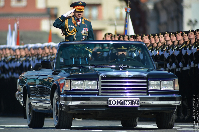 Victory Day Parade 2014 in Russia