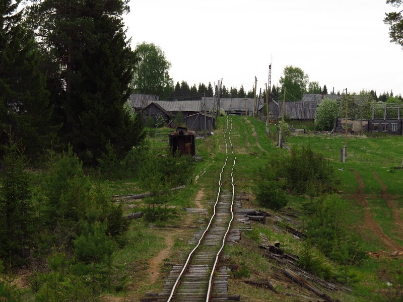 Russian Village Oparino Lost Deep in the Woods