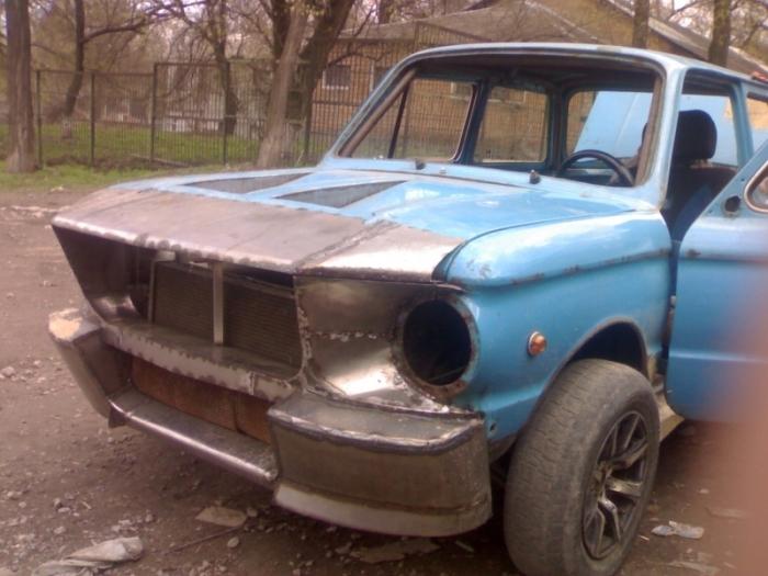 Soviet ZAZ Super Car