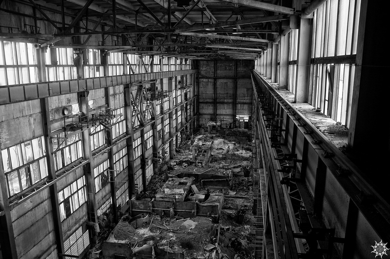 Abandoned Factory of Epichlorohydrin