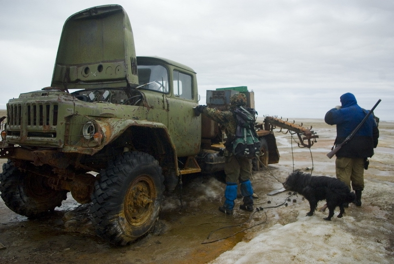 Abandoned Exploration Tools and Vehicles of Franz Josef Land