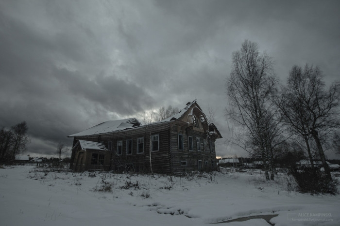Abandoned Russian Villages in 2015