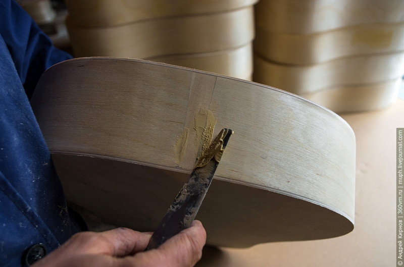 Russian Acoustic Guitar Makers from Bobrovo Russia