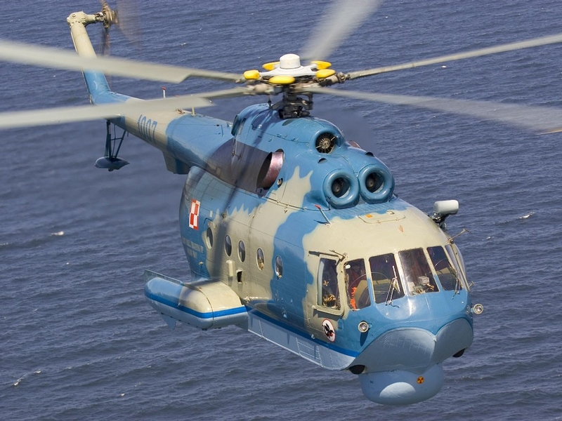 MI-14 Russian Amphibious Helicopter that Could Carry Nuclear Bombs