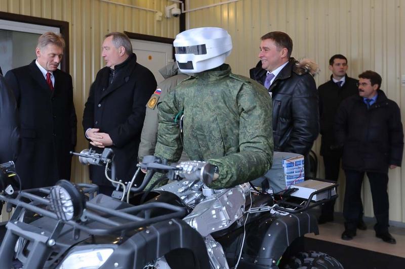 Meet Russian Android Robot Avatar