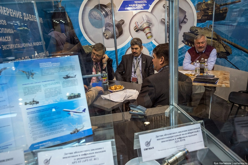 Russian Arms Expo 2015 Continued
