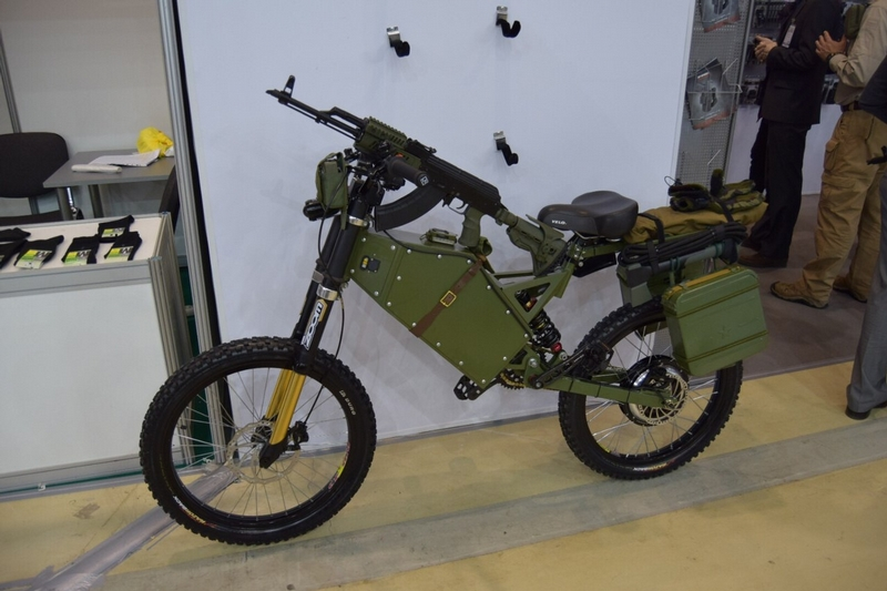Russian Army Electric Bikes