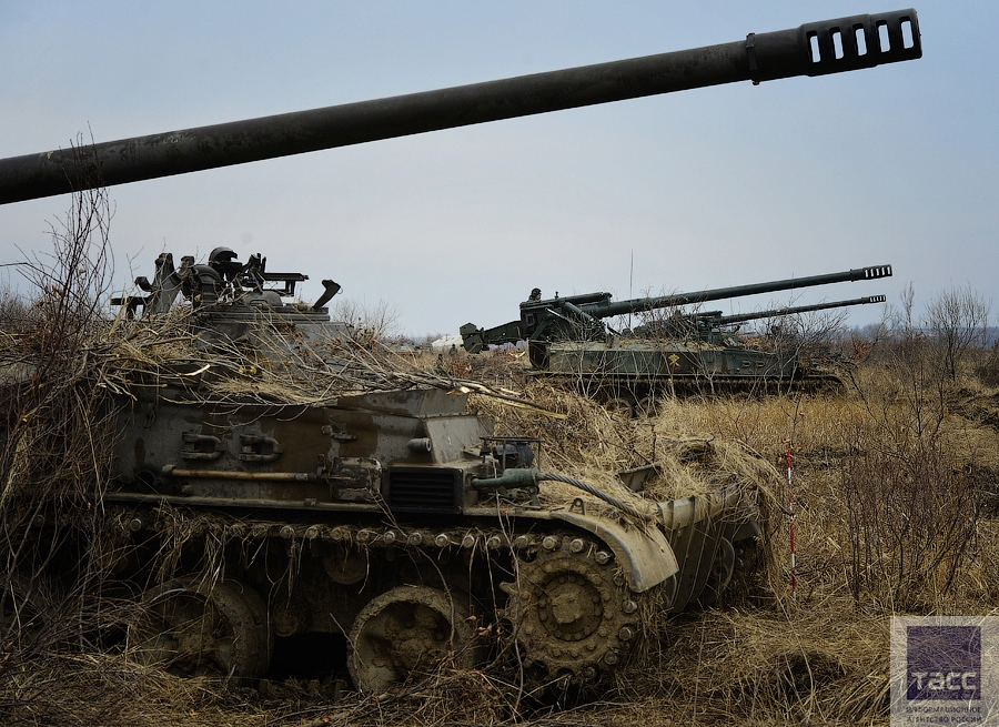 Russian Fifth Army Drill April 2016 | English Russia