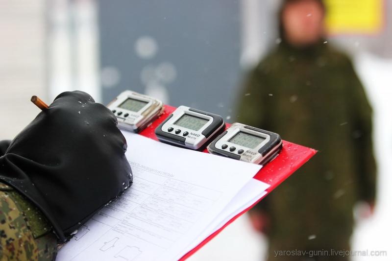 Russian Army Drill in Winter 2016