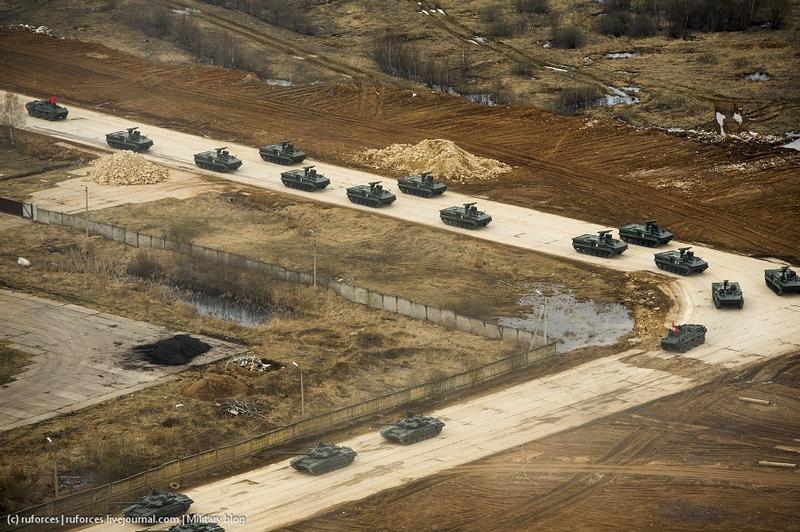 Tanks on the Border or the Ditch of Taratuta