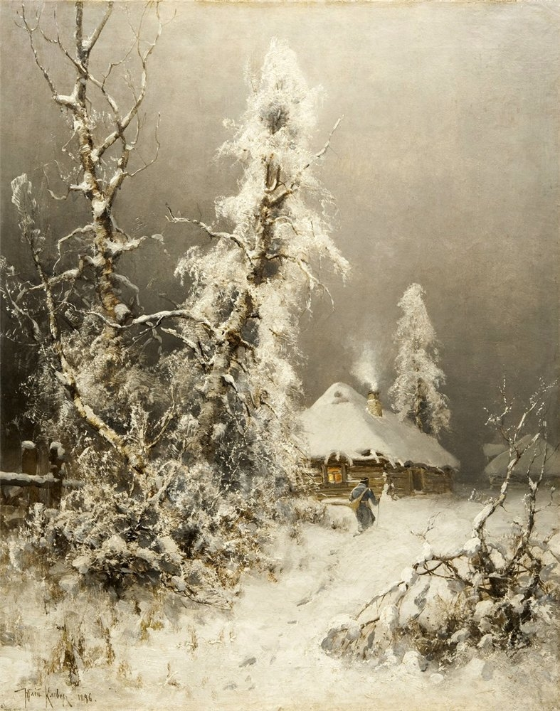 Awesome Russian Winter by Yulius Clever