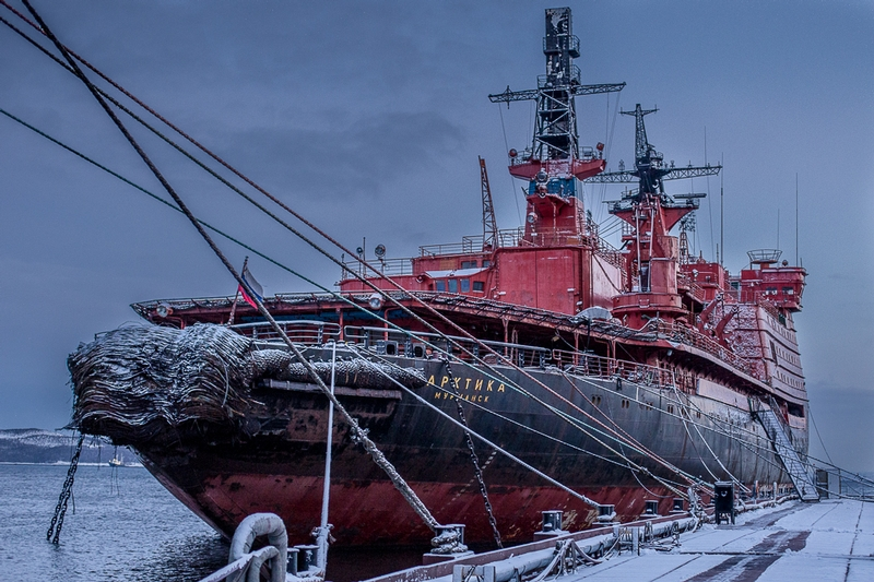 Russian Atomic Ice Breakers Up Close