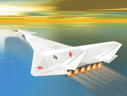 Soviet Top Secret Nuclear Airplane M-60M