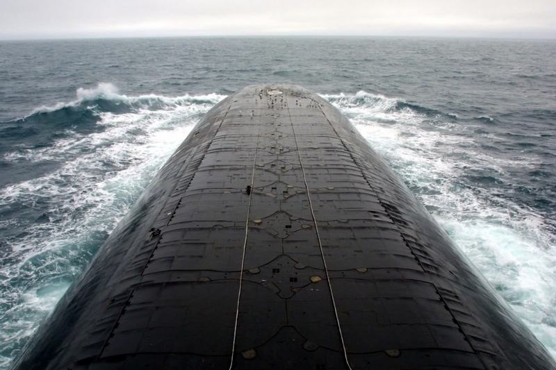 Russia's Biggest Submarine, the Akula
