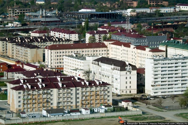 Capital of Rebel Chechnya Grozny City in 2016