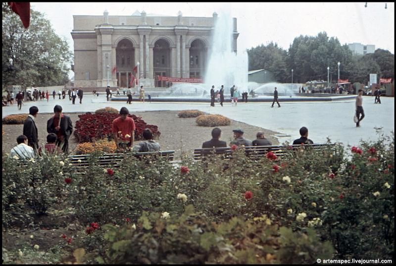 Soviet City Tashkent in 1960s