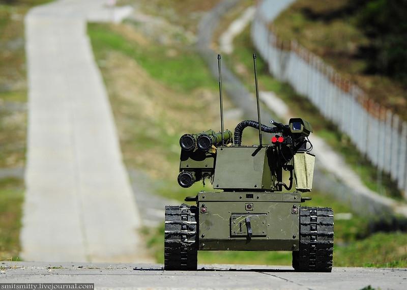 Russian Combat Robot Platforma M