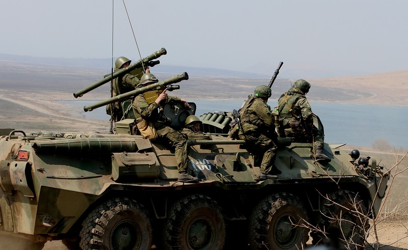Russian Army Has Landed on the Coast