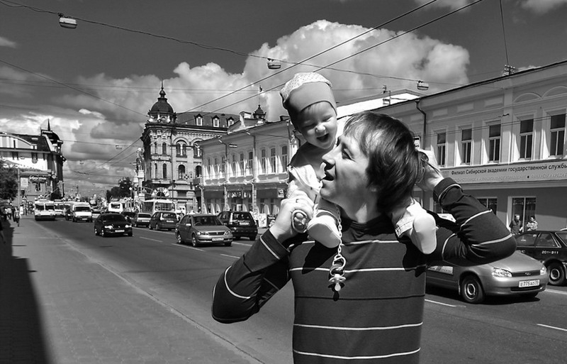 Everyday Russian Photos with a Deep Sense of Being