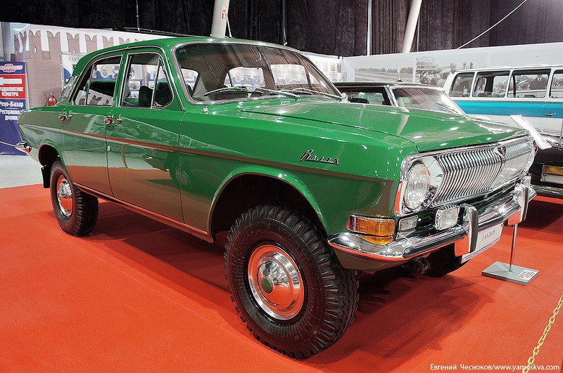 Russian Governmental Motorcade Transport History