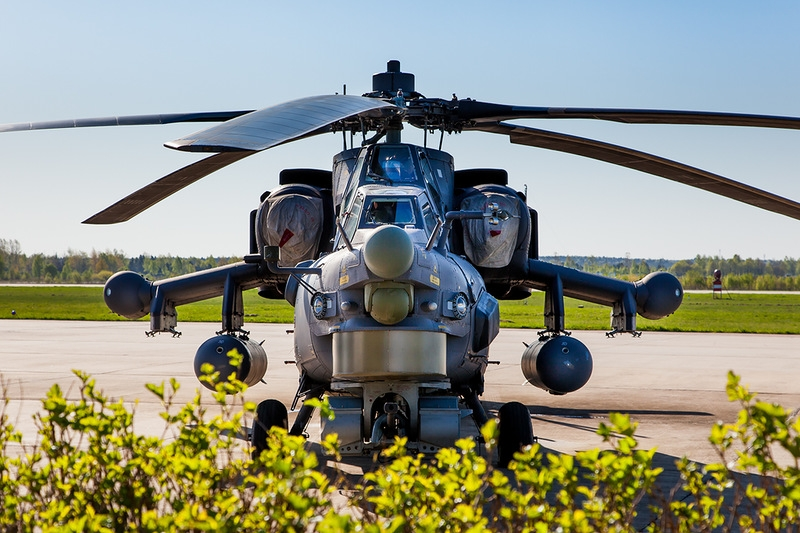 Russian Helicopter MI-28