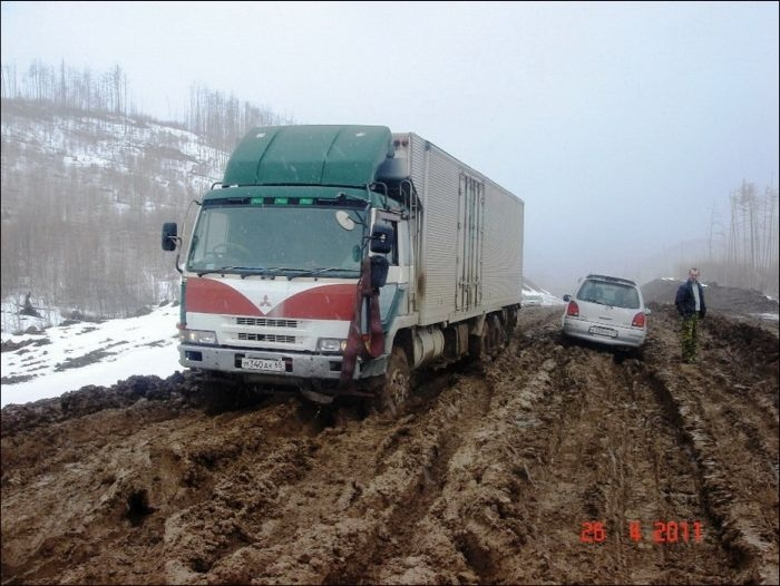 Russian Federal Highway LENA