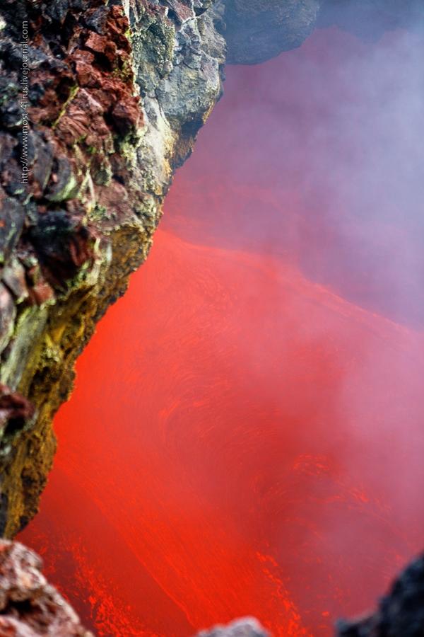 Underground Lava Rivers of Kamchatka