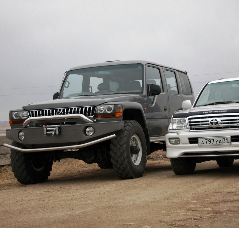 Suv Cars Page 7: Giant Russian SUV Converted From An Army Truck