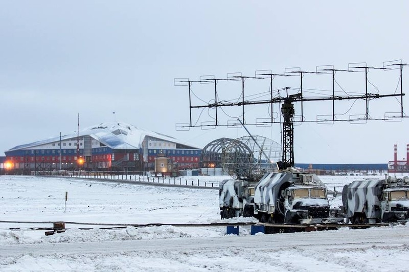 Russia's New Polar Military Base is Close to the Northern Pole