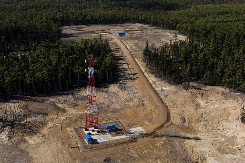 Russian Natural Gas Extraction