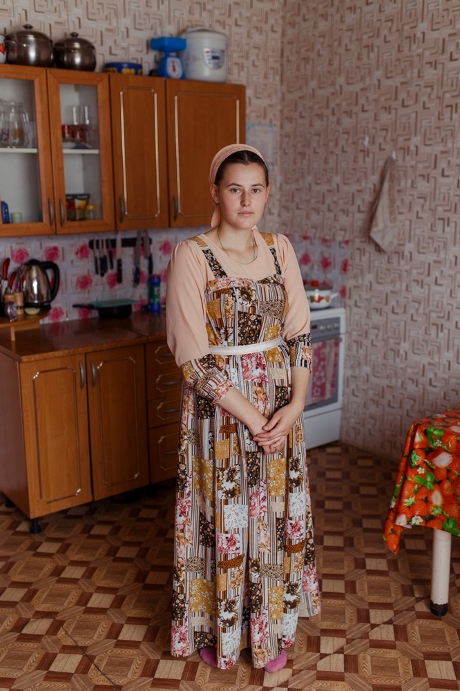Family of Russian Old Believers