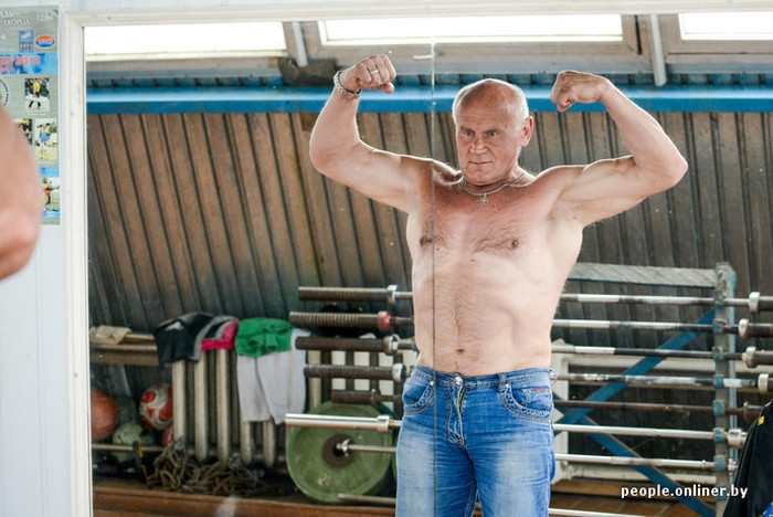 The World Strongest Man at Age of Sixty Five