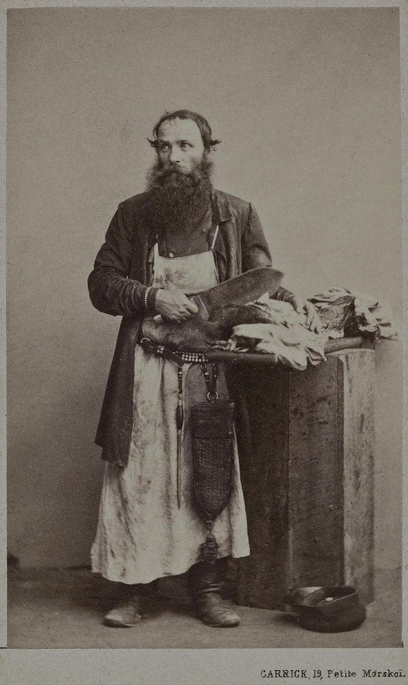 Ordinary Russian People Of 19th Century English Russia