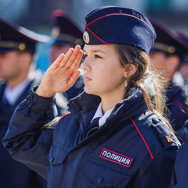 Russian Police on Instagram photos