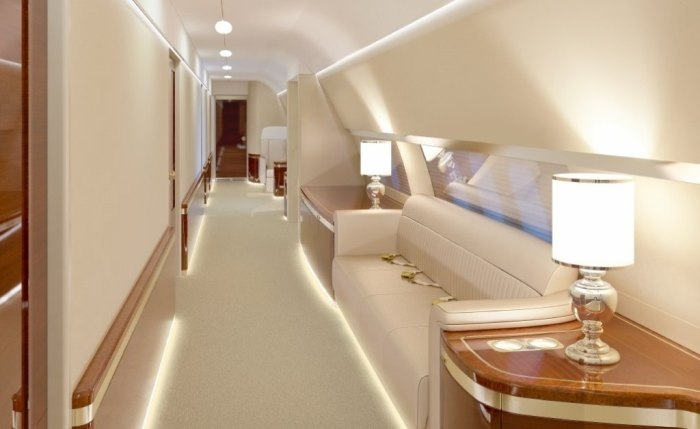 Super Luxurious Russian Presidents New Airplane Interiors