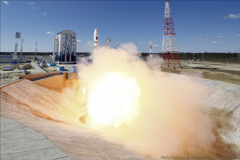 Russian rocket launched from Cosmodrome Vostochny for the first time