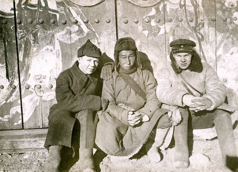 Russian Soldiers in Mongolia 1930s-1940s