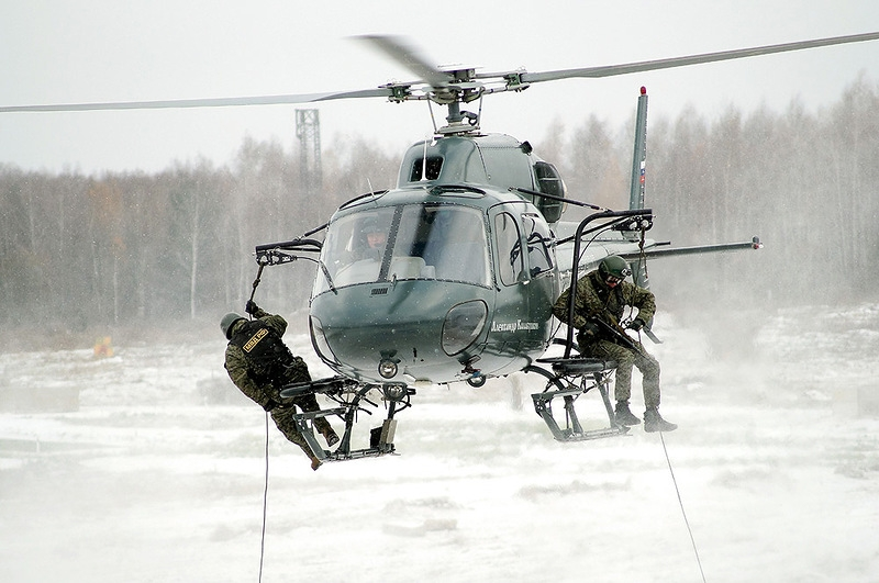 Moscow Police Special Forces Host Open House