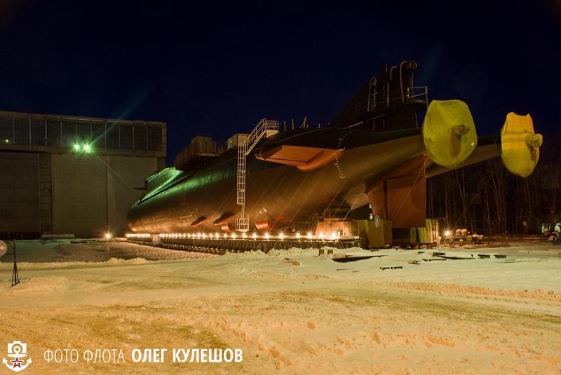 Russian Nuclear Submarine K-407